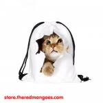 Drawstring Bag Escape Cat