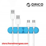 Orico CBS5 Adhesive Desktop Cable Fixer Blue