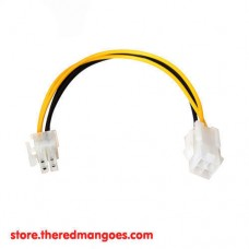 Cable ATX Mobo 4 Pin Male To 4 Pin Female