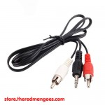 Cable Audio 3.5 To 2 RCA