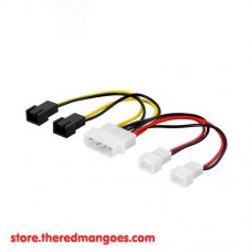 Cable Molex To 3 Pin Fan 2 Port 12V And 2 Port 5V