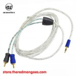 dbE Acoutics RM20 RCA to Mini Cable