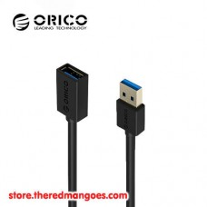 Cable USB 3.0 AM to AF Extension 1.5m Orico CER3-15 Black