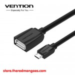 Vention A13 Kabel Extension Flat USB 3.0 Male to Female 1.5m Black