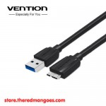 Vention A48 Kabel Data Micro-B USB 3.0 Harddisk HDD SSD Eksternal 1.5m