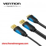 Vention A62 Kabel Data Harddisk Eksternal Micro USB 3.0 with USB Power 0.25m