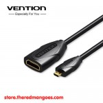 Vention ABBBF Kabel Micro HDMI Male to Standard HDMI Female v1.4b