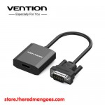 Vention ACEB0 / ACE Adapter Converter VGA Male to HDMI Female 0.15m Black