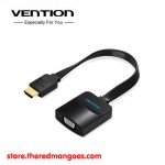 Vention ACKBB / ACK Cable HDMI Male To VGA Female with Audio & Power Black