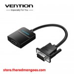 Vention ACN / ACNBB VGA Male To HDMI Female Converter With Audio And Power