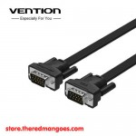 Vention B05 Kabel VGA Male to Male Flat Premium Shielded Black 1.5m