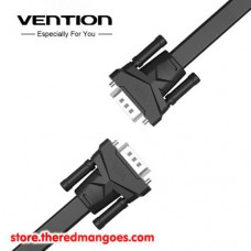 Vention B05 Kabel VGA Male to Male Flat Premium Shielded Black 2m