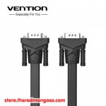 Vention B05 Kabel VGA Male to Male Flat Premium Shielded Black 3m