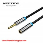 Vention B06 Audio Aux 3.5mm Male to Female 2M Black