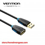 Vention CBCBBH / CBC Kabel Extension USB 2.0 Gold Plated Male to Female 2m