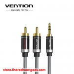 Vention P560 Aux 3.5mm Male to 2 RCA Male 1.5M Silver