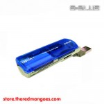 E-Blue Cadena+ Card Reader Blue