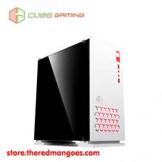 Cube Gaming Vred White Micro ATX Case