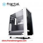 Fractal Design Meshify C TG Tempered Glass White