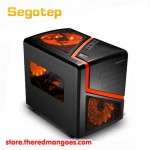 Segotep Mini Case π Cube Black [Micro ATX And Mini-ITX]