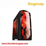 Segotep Polar Light Gaming Case Black Micro ATX Case