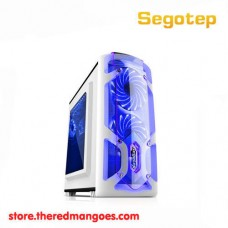 Segotep Polar Light Gaming Case White Micro ATX Case