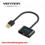 Vention CDFBA Universal External USB Sound Card