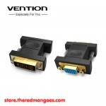 Vention DV380VG Adapter Converter DVI 24+5 Male To VGA Female