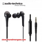 Audio Technica ATH-CKS550iS Solid Bass Black