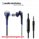 Audio Technica ATH-CKS550iS Solid Bass Blue