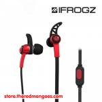 iFrogz Summit Sport Wired Earset Red