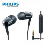 Philips SHE3905 With Mic Black