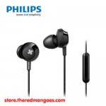 Philips SHE4305 Bass+ Earphone With Mic Black
