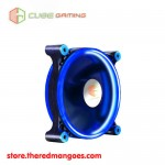 Cube Gaming Double Ring Fan V2 12cm Blue Led