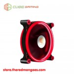 Cube Gaming Double Ring Fan V2 12cm Red Led