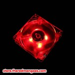 Fan 12cm Red Led