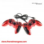 Game Shock Gamepad Double Getar Red