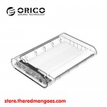 "Orico 3139U3 HDD Enclosure 3.5"" Transparent - USB 3.0"