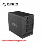 "Orico 9548U3 4 Bay Aluminum HDD Enclosure 3.5"" Black - USB 3.0"
