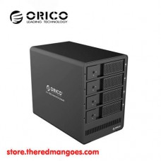 "Orico 9548U3 4 Bay Aluminum HDD Enclosure 3.5"" Black"