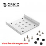 "Orico AC5325-1S HDD Bracket 2.5"" To 3.5"" Silver"