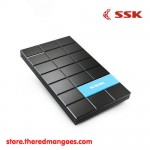 "SSK SHE080 Black HDD Enclosure 2.5"" USB 3.0"