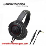 Audio Technica ATH-WS550iS Solid Bass Headset Black