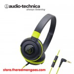 Audio Technica ATH-S100iS Green