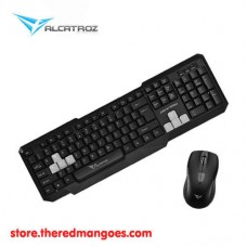 Alcatroz Xplorer 5500M Multimedia Keyboard And Mouse Combo Gray