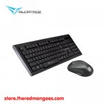 Alcatroz Xplorer Air 1000 Keyboard Mouse Wireless Grey