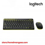 Logitech MK240 Nano Keyboard Mouse Wireless Combo Black