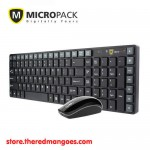 Micropack KM-220W Keyboard Mouse Wireless Combo Black