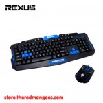 Rexus Warfaction VR2 Gaming Keyboard Mouse Combo Wireless