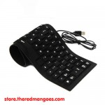 Flexible Keyboard Mini Black